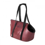 Borsa Trasportino per Cane Paris Rouge in Similpelle