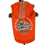 Orange Shine Sport Sweatshirt for Small Dogs