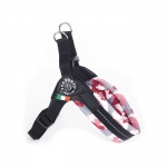 Soft Adjustable Harness for Small Dogs in Pink Camo