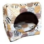 Cuccia Cubo Animalier per Cani e Gatti