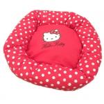Panier Rond Hello Kitty pour Chihuahua et Maltais