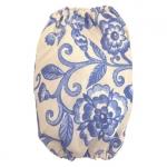 Cache-Oreilles pour Cocker Spaniel avec des Fleurs Bleues