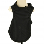 Black Tank Top for Large Dog