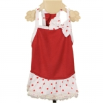 Minnie Dog Dress in Red