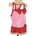 Minnie Dog Dress in Pink