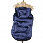 Dark Blue Jacket for Dogs