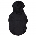 Black Hoodie for Large Dogs