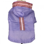 Fluorescent Lilac Dog Raincoat