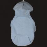 Sweat-Shirt Uni Bleu Claire pour Chiens