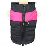Purple Sleeveless Jacket for Dogs