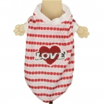 Breathable Dog T-Shirt - Love Red